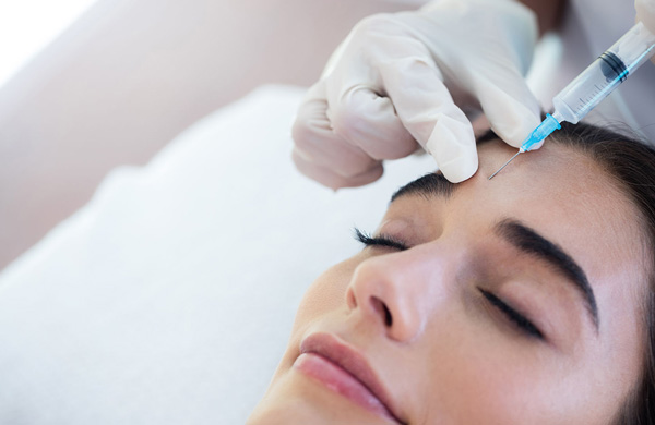 Botox injections performed at Galleria OMS Center by Dr Alexander V. Antipov at Roseville, CA